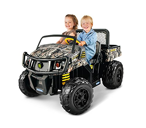 Peg Perego John Deere Gator Xuv Children's Powered Ride Ons, Camo, One Size [Amazon Exclusive]