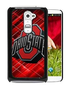 Ncaa Ohio State Buckeyes 49 Black Hard Shell Phone Case For LG G2