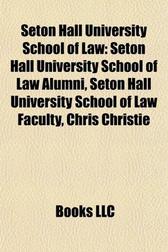 Seton Hall University School of Law: Seton Hall University ...