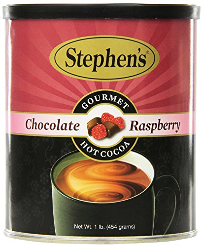 Raspberry Chocolate Chocolate Hot - Stephen's Gourmet Hot Cocoa, Chocolate Raspberry, 16-Ounce Cans (Pack of 6)