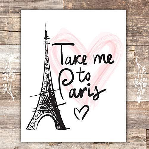 Take Me to Paris Wall Art Print