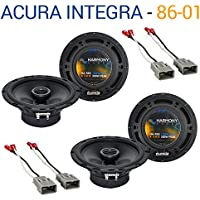 Acura Integra 1986-2001 Factory Speaker Replacement Harmony (2) R65 Package New