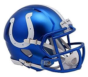 NFL Indianapolis Colts Alternate Blaze Speed Mini Helmet