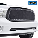 2015 ram grill - EAG 2013-2018 Dodge Ram 1500 Rivet Stainless Steel Wire Mesh Grille W/Shell