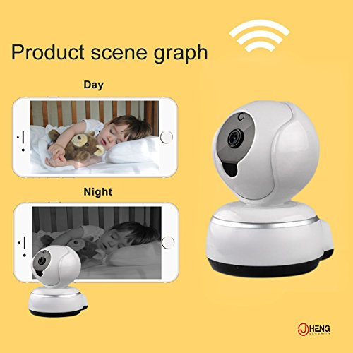 JC Wireless Security Camera,720P HD WIFI IP Camera, Home Security