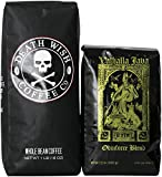 Death Wish Coffee & Valhalla Java Variety Bundle Deal, Fair Trade and USDA Certified Organic, Whole Bean Coffee