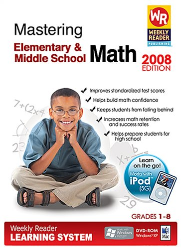 Weekly Reader Learning System Mastering Elementary/Middle School Math