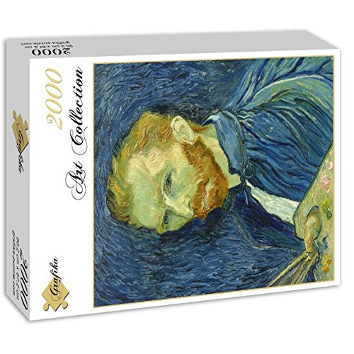 Autoportrait Grafika Puzzle 2000 pi/èces 1889 Vincent Van Gogh