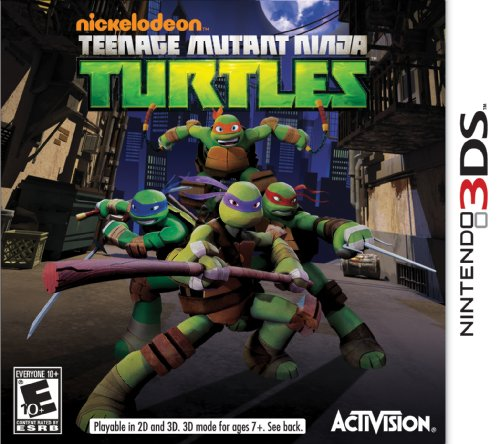 Teenage Mutant Ninja Turtles - Nintendo 3DS (Nintendo Ds Ninja)