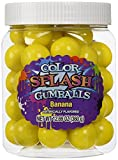 COLORSPLASH GUMBALLS Jars, Yellow Banana, 12.69 oz, 49 Piece