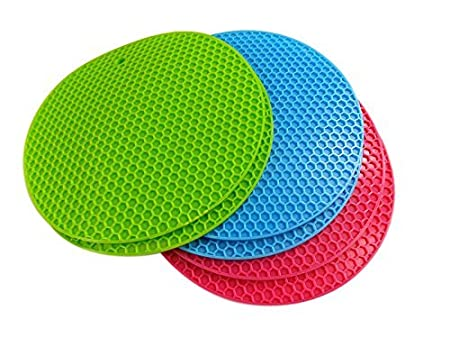 Bettli Silicone Non-Slip Pot Holder/Trivet Mat/Coaster/Placemat (Flower2) Bokesi B-PM008