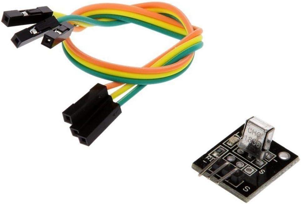 Yangge Yujum 2PCS IR Wireless Remote Control Sensor Keys Electronic Module Kits Set Compatible