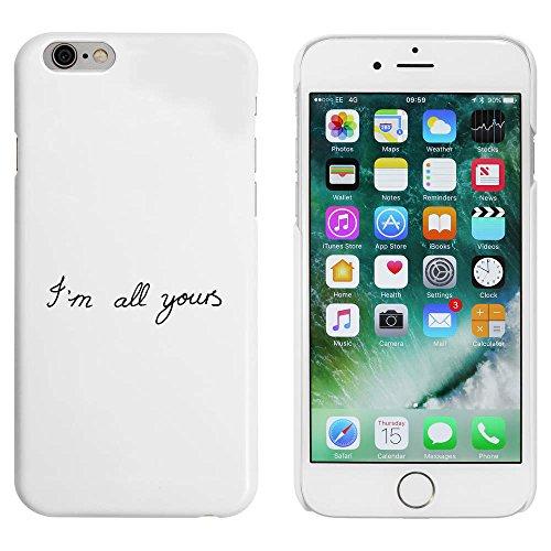Blanc 'I'm All Yours' étui / housse pour iPhone 6 & 6s (MC00025794)