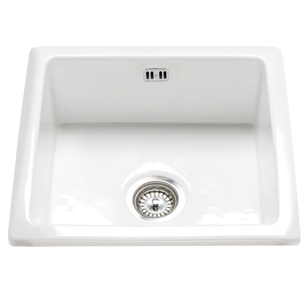 RAK Ceramics Gourmet Sink 6 Inset/Undermount 1.0 Bowl White ...