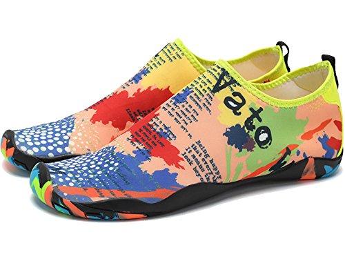JOOMRA Herren Atmen Easy Fortune Knit Fashion Sneaker Farbenfroh