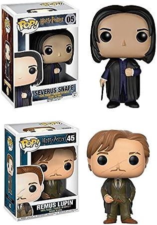 Funko POP! Harry Potter: Severus Snape + Remus Lupin – Stylized Vinyl Figure Set NEW: Amazon.es: Hogar