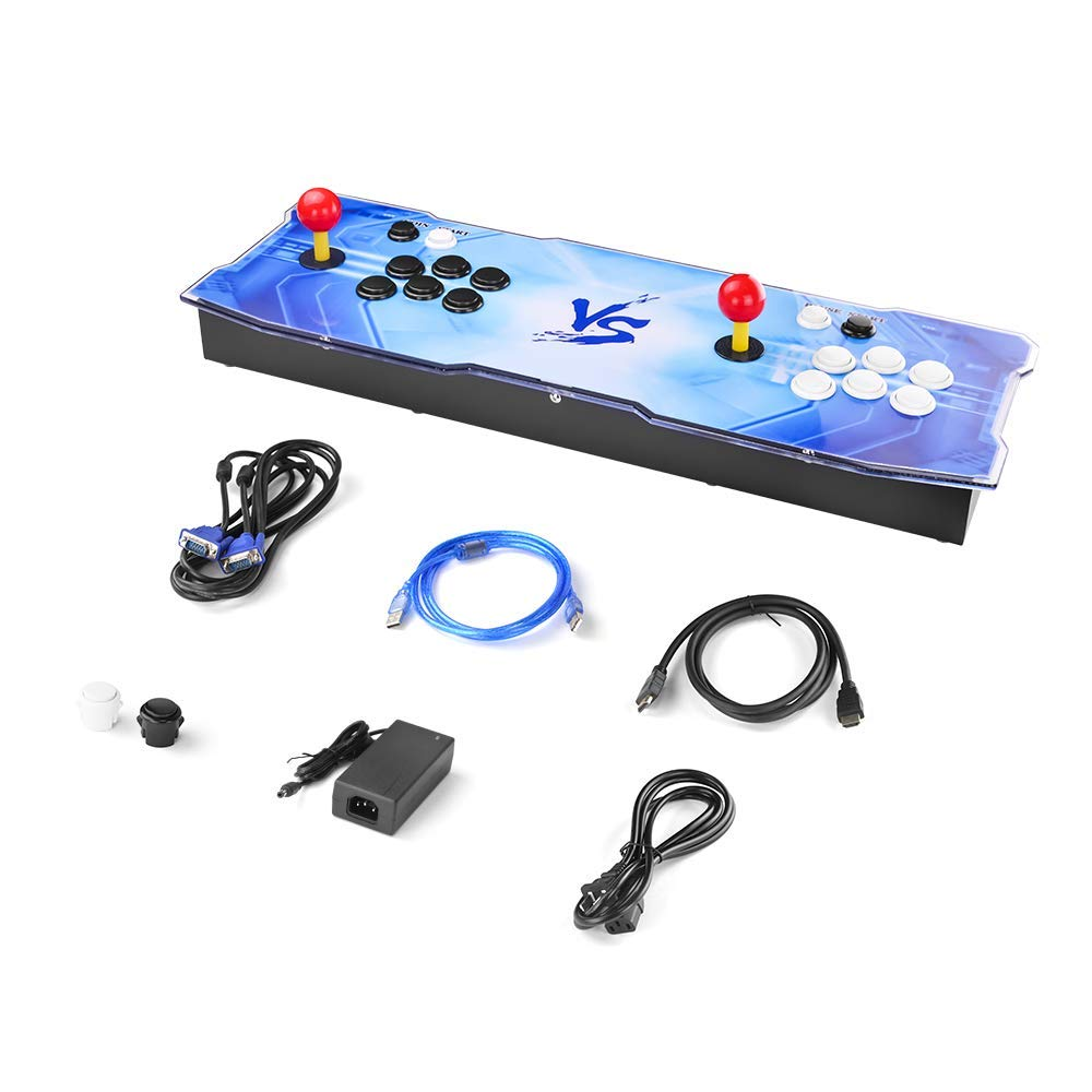 Pandora's Box 9 Multiplayer Joystick and Buttons Arcade Console, TAPDRA Arcade Games Machines for home, 1500 Retro Classic Video Games All in One, Newest System with Advanced CPU, Compatible with HDMI by TAPDRA (Image #7)