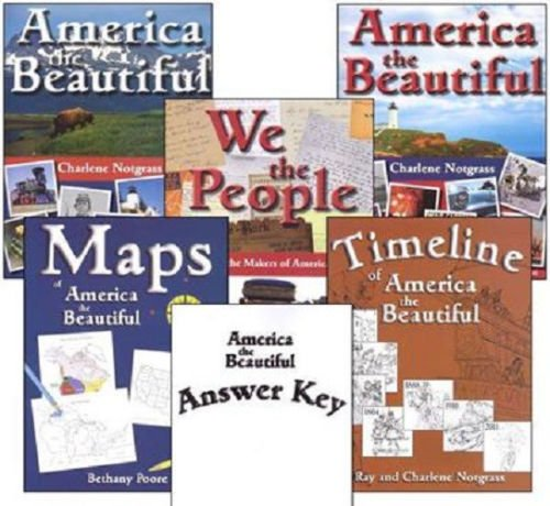 America the Beautiful Curriculum Package