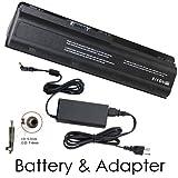 HP Pavilion DV6-6080ee Laptop Battery and 90 Watt Adapter - Premium Powerwarehouse 9 Cell Battery and 90 Watt Adapter Combo