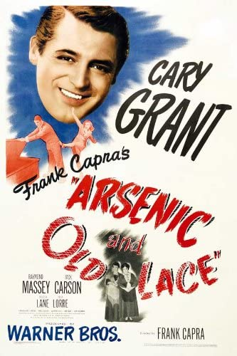 Amazon.com: Movie Posters Arsenic and Old Lace 27 x 40: Prints: Posters &  Prints