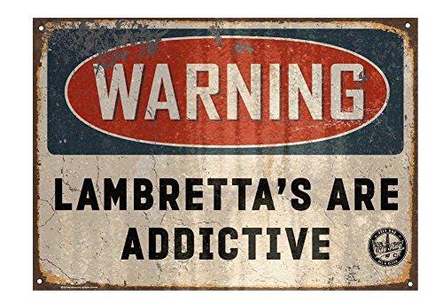 Oily Rag Clothing Lambrettas Are Addictive Sign