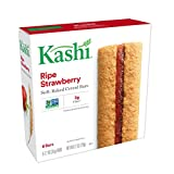 Kashi Cereal Bar, Ripe Strawberry, 6 - 1.2 Ounce Bars, (Pack of 6)