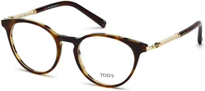 f58ff15db46c Image Unavailable. Image not available for. Color: Eyeglasses Tod's TO 5184 056  havana/other