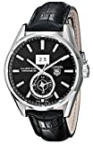 Watches : TAG Heuer Men's WAR5010.FC6266 Analog Display Automatic Self Wind Black Watch