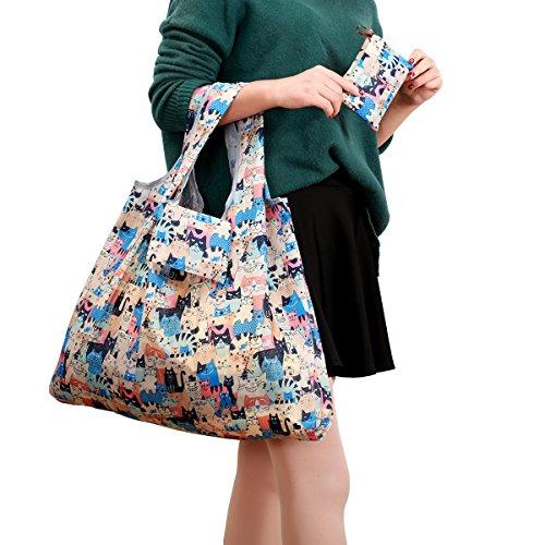 KINGMAS Folding Reusable Grocery Bags product image