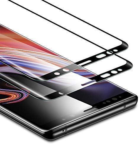 esr Protector Pantalla para Samsung Note 9, Cristal Templado [2 Piezas][Cobertura de Pantalla Completa] [Compatible con S Pen] 9H Dureza Resistente a Arañazos Compatible para Samsung Galaxy Note 9: Amazon.es: Electrónica