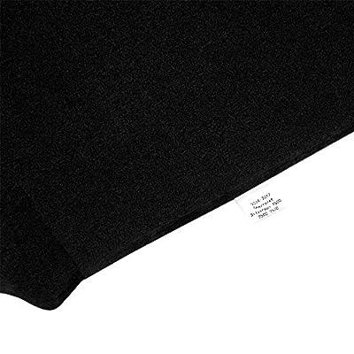 JIAKANUO Auto Car Dashboard Carpet Dash Board Cover Mat Fit Lexus ES350 2007-2012 (Black MR-064): Automotive