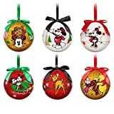Disney World of Disney Decoupage Ornament Set