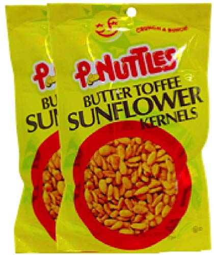 NEW Pnuttles Butter Toffee Sunflower Kernels Net Wt 4.5 Oz (2) by Peanuttles