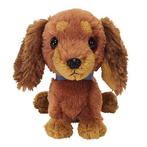 Sun Lemon Pups! Stuffed Toy S Toy Miniature Dachshund Brown P-5942
