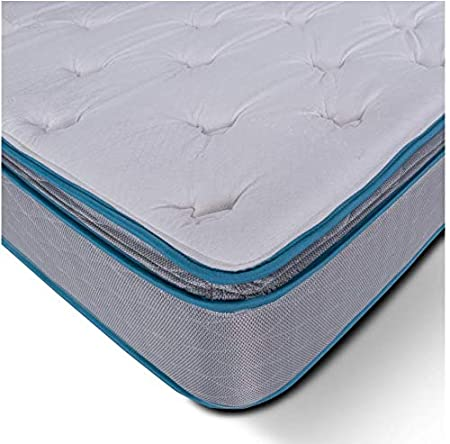 DreamFoam Ropa de Cama Ultimate Dreams Crazy Quilt Almohada colchón Superior, Doble: Amazon.es: Hogar