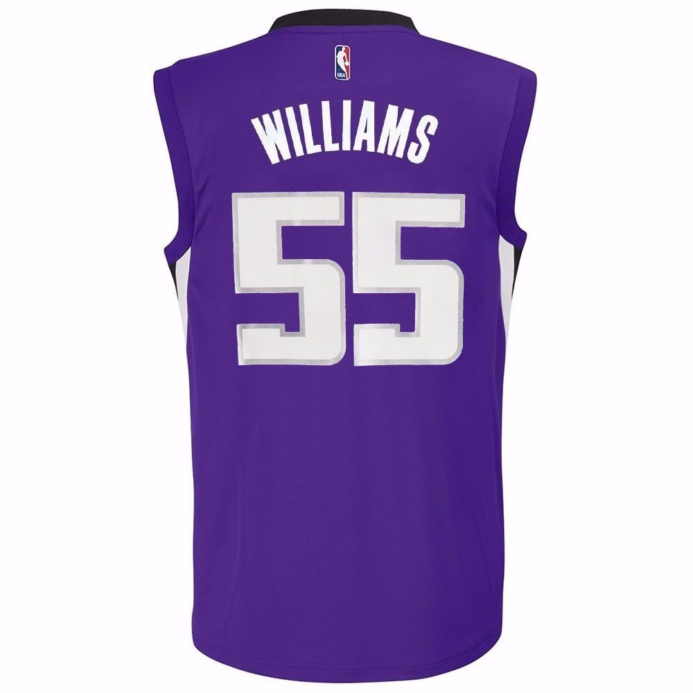 Jason Williams Saramento Kings NBA Adidas Youth Purple Official Home Replica Basketball Jersey