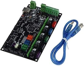 3D Impresora Controlador Tablero Gen V1.4, Repuesto Circuito ...