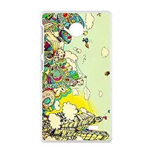 Creative Graffiti Town Hot Seller High Quality Case Cove For NOKIA X