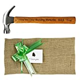 Langxun Engraved Wood Handle Steel Hammer / Personalized Gifts for Father's Day Gift & Birthday Gifts for Dad (Claw Hammers-DAD)