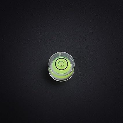 Level Degree Mark Mini Tiny Disc 10x6mm Spirit Surface Level Mark Use for Tripod Camera Bubble Level Measuring Tools 10 Pack