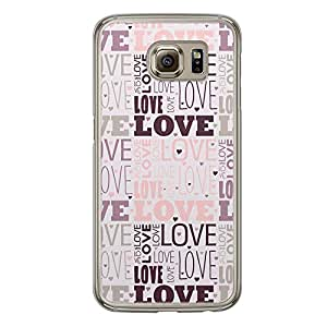 Loud Universe Samsung Galaxy S6 Love Valentine Printing Files A Valentine 179 Printed Transparent Edge Case - Multi Color
