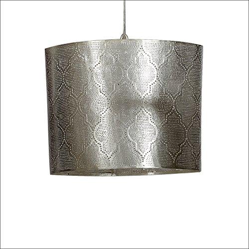 Moorish L Lampe Suspension Orientale Oval Modèle Zenza Silver SMVzLpGUq