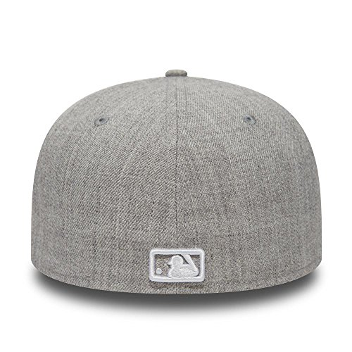 Grey Heather New b Gorra Mlb de Era white Neyyan Basic wqqXB1T