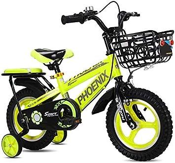 Rong Bicicleta de los niños 2-3-4-6-7-8 Años de Edad niños ...