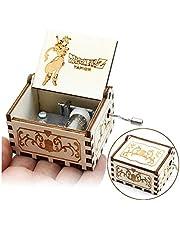 Cuzit Dragon Ball - Caja de música, diseño de Bola de dragón Envejecido, Madera