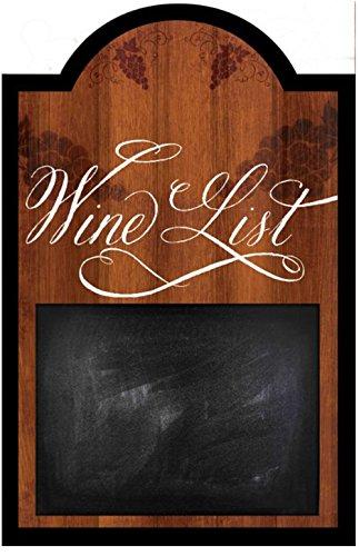 Wine List Chalkboard Sign