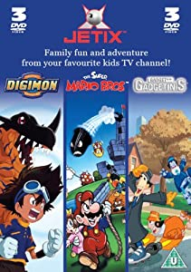 Digimon/The Super Mario Bros/Gadget And The Gadgetinis DVD