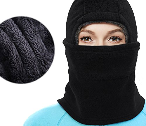 X-CHENG Balaclava Ski Mask - Cold Weather Face Mask Motorcycle Neck Warmer or Tactical Balaclava Hood - Plus Velvet - Ultimate Thermal retention In The Outdoors - Mask Neck Lengthen - Best Running Shades