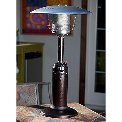 Fire Sense Propane Table Top Patio Heater-p