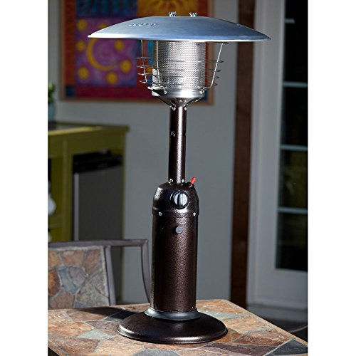 Fire Sense Propane Table Top Patio Heater P Garden